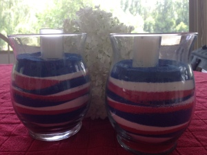 sand craft candles july 4